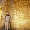 PB 20 - Tour Guide and Hieroglyphics, Valley of the Queens, Egypt