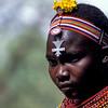 PB 27 - Young Girl, Masai Mara, Kenya, Africa