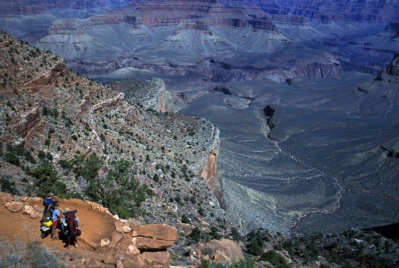 PA 3 - Hiking the Bright Angel Trail, Grand Canyon, Arizona