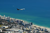 UPS Boeing over Miami Beach - Miami Beach, FL