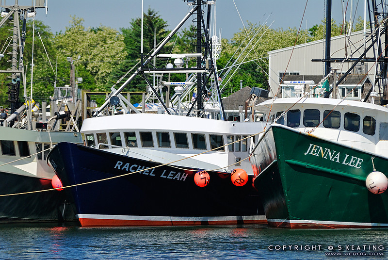 Fishing boats (lobster) at Hyannis, MA