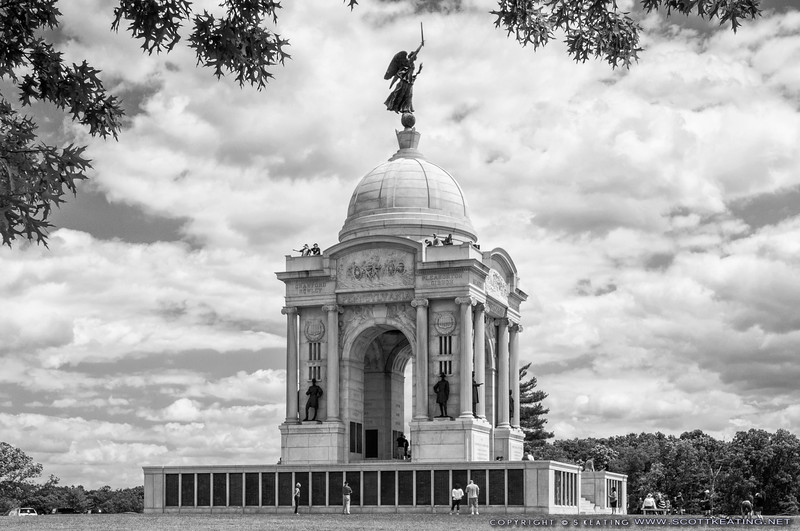 State of Pennsylvania Monument - Gettysburg