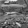 Stream & Barn - near Liberty Furnace, Virginia