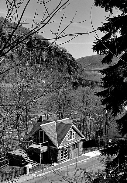 The Terrace Garage - Harper's Ferry, West Virginia
