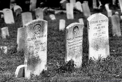 Graves - Tangier Island, Virginia<br /> Scanned from 35mm B&W film