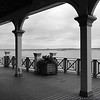 View from the pavillion at Conference House Park<br /> Staten Island, NY