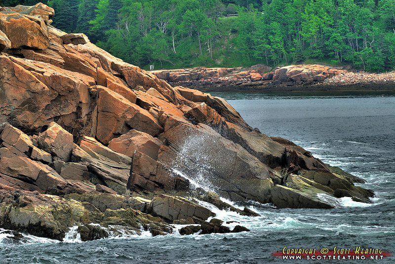Coastal scene - Acadia National Park, Maine
