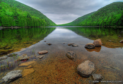 Bubble Pond - Acadia National Park, Maine
