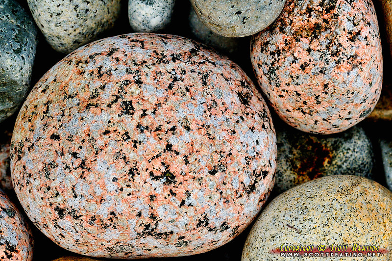 Rocks on Little Hunters Beach - Acadia National Park, Maine