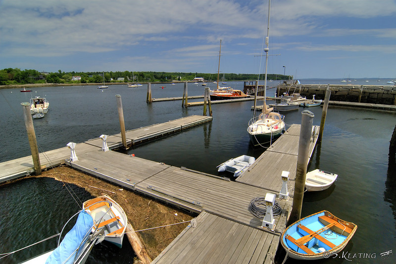 Waterfront - Belfast, Maine