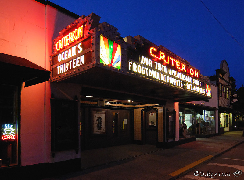 Movie Theater - Bar Harbor, Maine
