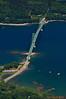 Deer Isle Bridge across Eggemoggin Reach between Sedgewick and Deer Isle, Maine
