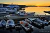 Sunset, Bar Harbor Waterfront - Bar Harbor, Maine