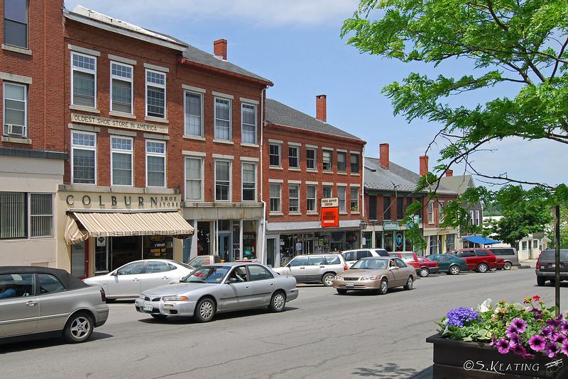 Main Street - Belfast, Maine