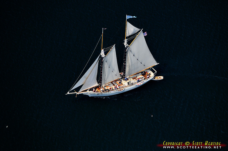 "The Schooner Mary Day  <a href=""http://www.schoonermaryday.com"">http://www.schoonermaryday.com</a> ) on Blue Hill Bay near Brooklin, Maine - west of Mount Desert Island"