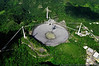 """Arecibo - Pr - Puerto Rico<br /> Arecibo Radio Telescope<br /> 18, 20' 39.1187"""" 66, 45' 9.46542"""""""
