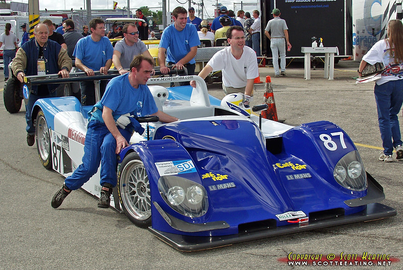 2002 #87 Ford Norma SRP - Sezio Florida Racing Team