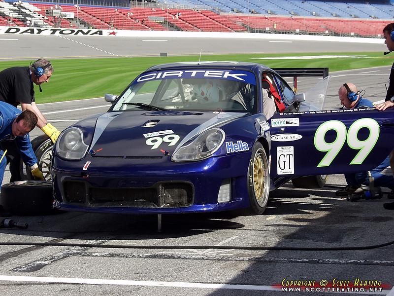 Porsche 996 GT3-R<br /> Team: Cirtek Motorsport<br /> Class: GT