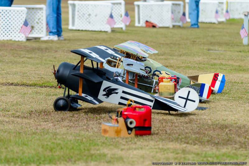 Aircraft line-up - Blue Max 2016