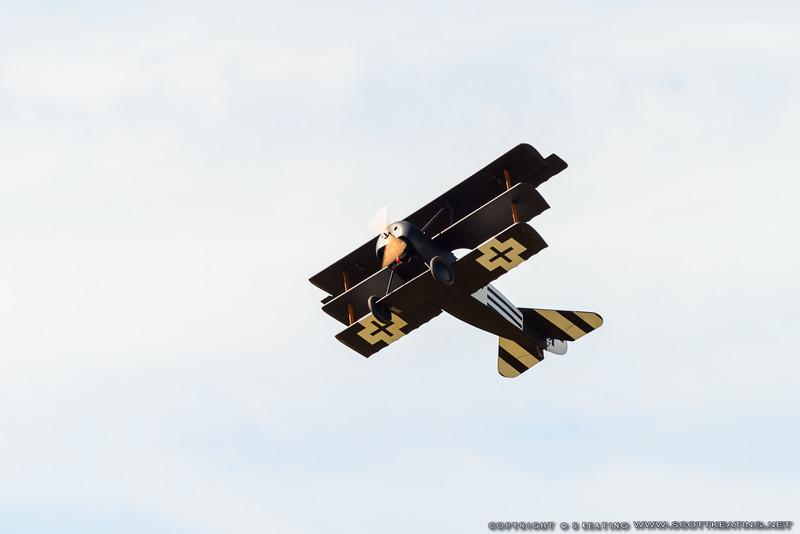 Fokker Triplane - Blue Max 2016