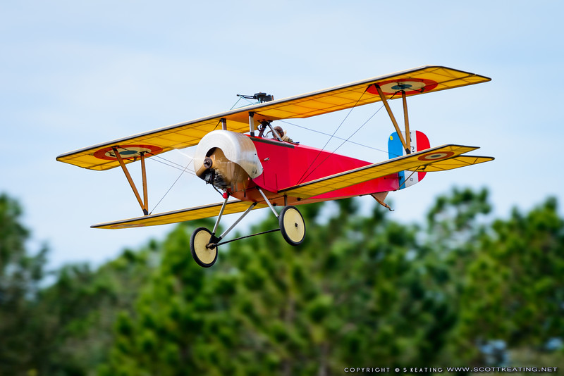 Nieuport 11 - Blue Max 2016