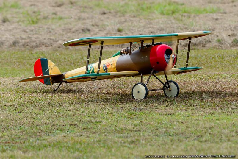Nieuport 28 - Blue Max 2016