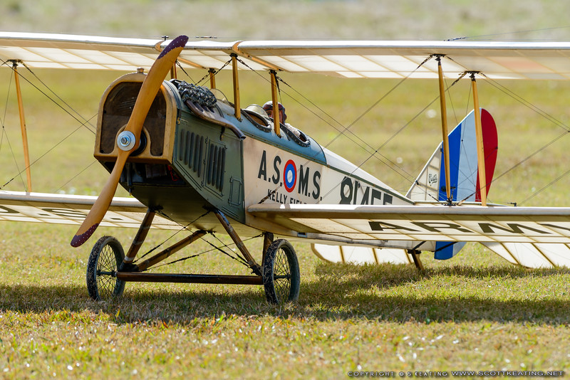 "Curtiss ""Jenny"" - Blue Max 2016"