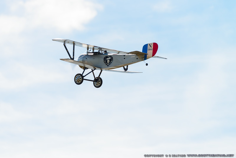 Nieuport 17 - Blue Max 2016