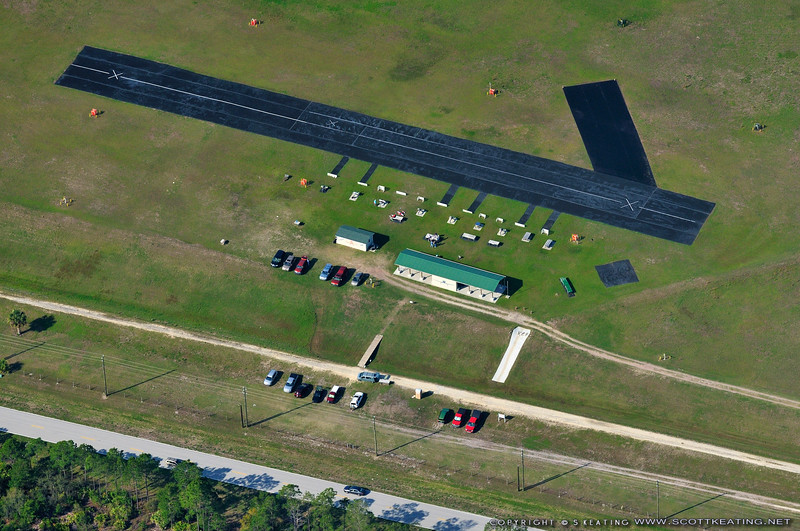Flagler RAMS RC Field, April 2011 (north is to the right)