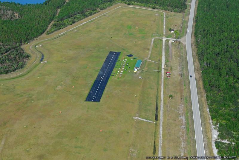 Flagler County RAMS flying site, Old Kings Road, Jan-22-2008