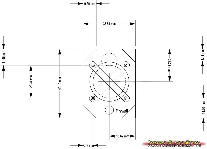 Motor-mount bulkhead design