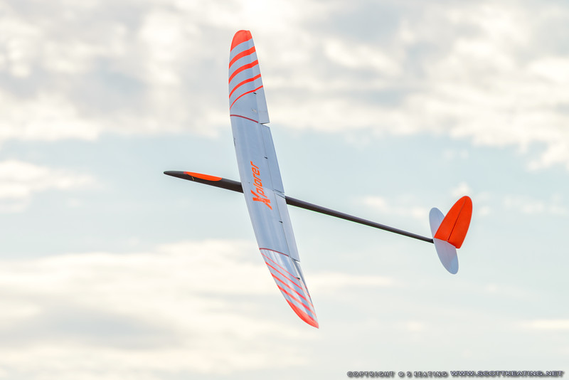 Steve Blake's Xplorer - FSS (Florida Soaring Society) contest #1 2018, hosted by the Orlando Buzzards in Christmas, Florida