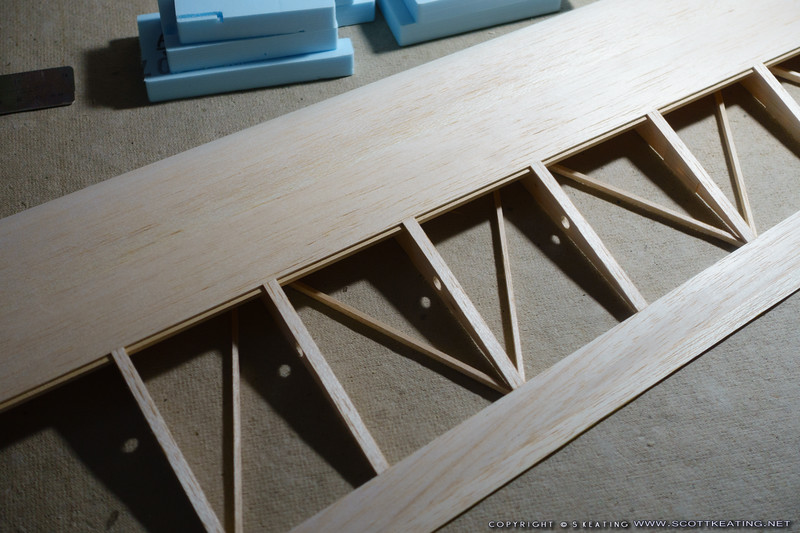 completed wing-tip panel