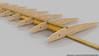 Wing tip panel rendering