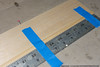 Gluing up the lower spar-cap and sheeting