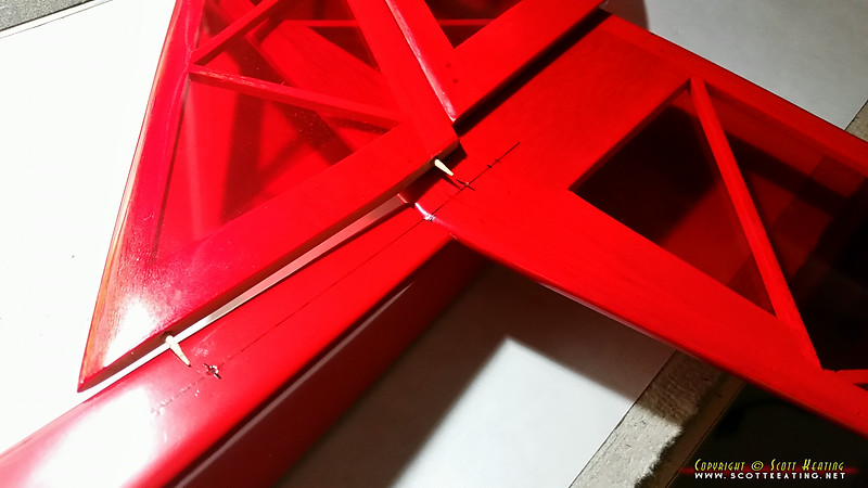 Installing the vertical stabilizer