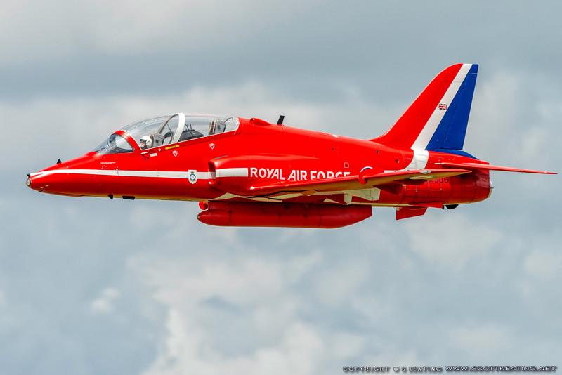 BAE Systems (Hawker Siddeley) Hawk (turbine) model at Top Gun 2013