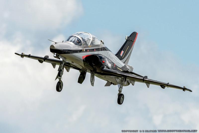RC BAE Systems Hawk (turbine) model at Top Gun 2013