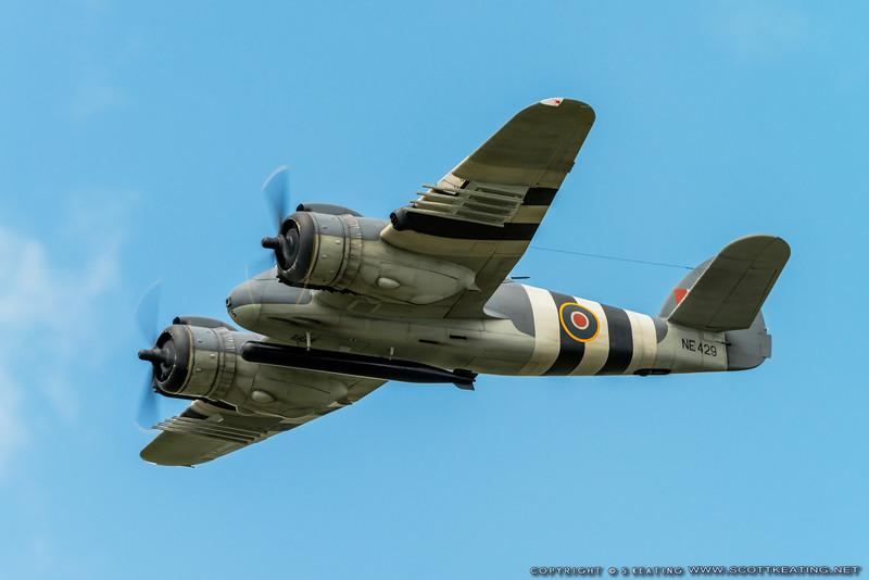Bristol Beaufighter by Dave Wigley - Top Gun 2013
