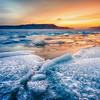 Frozen Susquehanna Sunrise