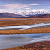 The Mclarin River alone the Denali Highway