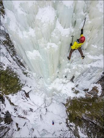 Majestic Pillar of Ice
