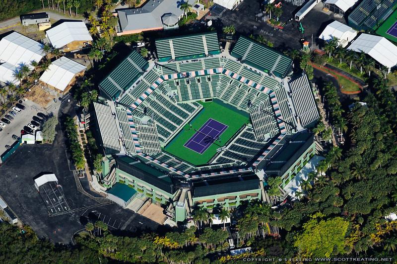 Crandon Park Tennis Stadium - Key Biscayne - Miami, FL