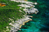 Rocky island coastline, Bahamas<br /> Suitable Sizes: Rectangular formats up to 11x14 & Photo Puzzles