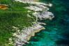 Rocky island coastline, Bahamas<br /> Suitable Sizes: Rectangular formats up to 11x14 & Photo Puzzles