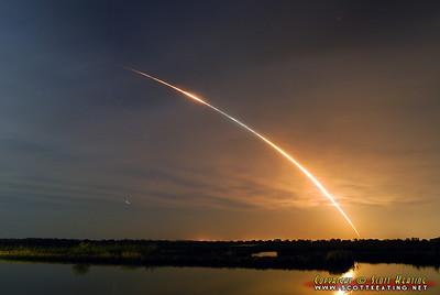 Nov '08 - Shuttle Endeavour launches at 7:55pm