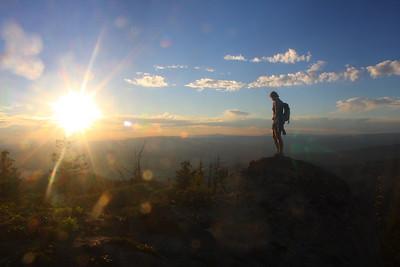 Mores Mountain above Boise, Idaho.