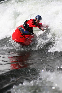 Boise whitewater park, Idaho.