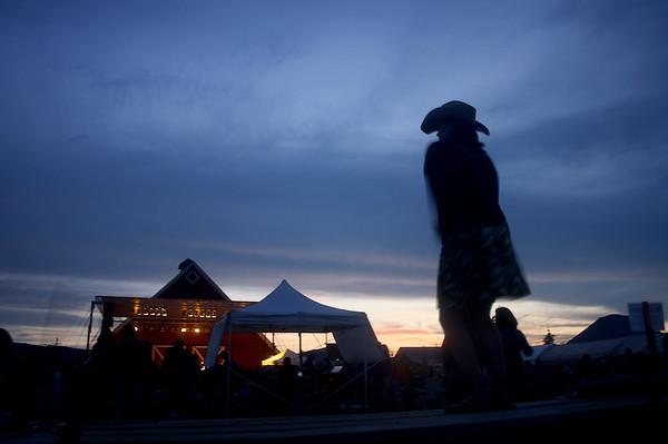 Roseberry Music Festival. Roseberry, Idaho.