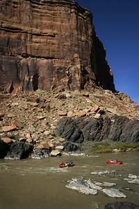 Westwater Canyon, Colorado River, Utah.
